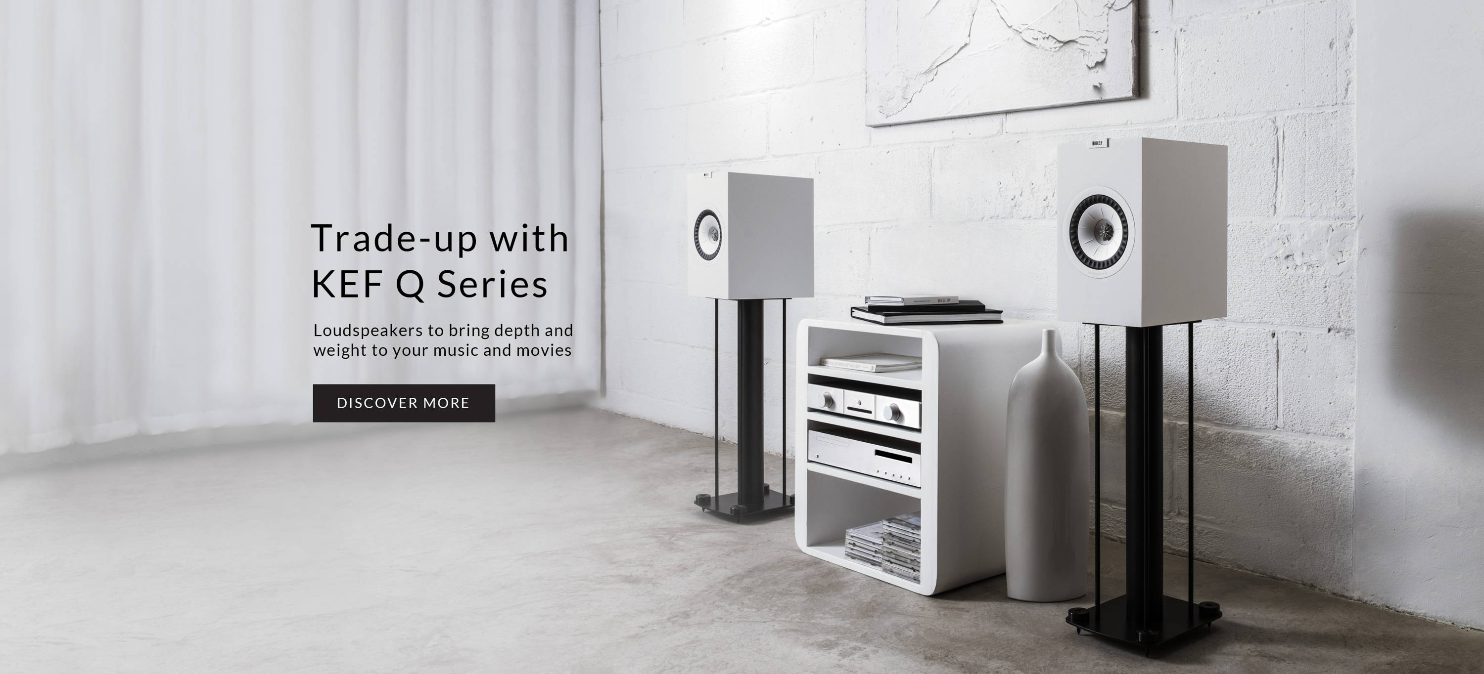 Trade up with KEF Q series