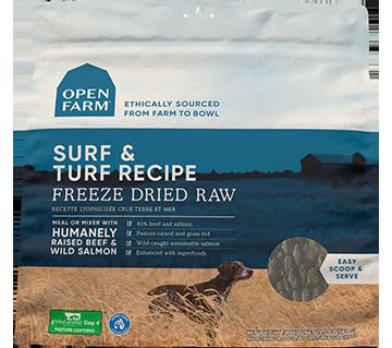 Surf & Turf Freeze Dried Raw Dog Food