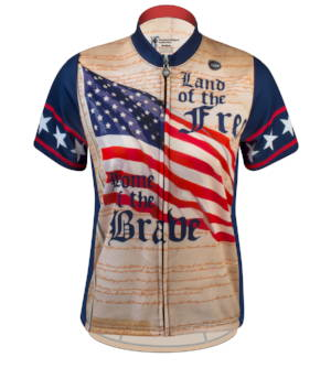 Women's Patriot Cycling Jersey