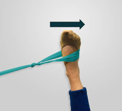 Theraband Ankle Resistance Exercise