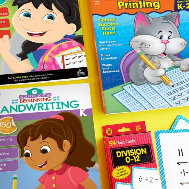 Best selling educational learn at home products