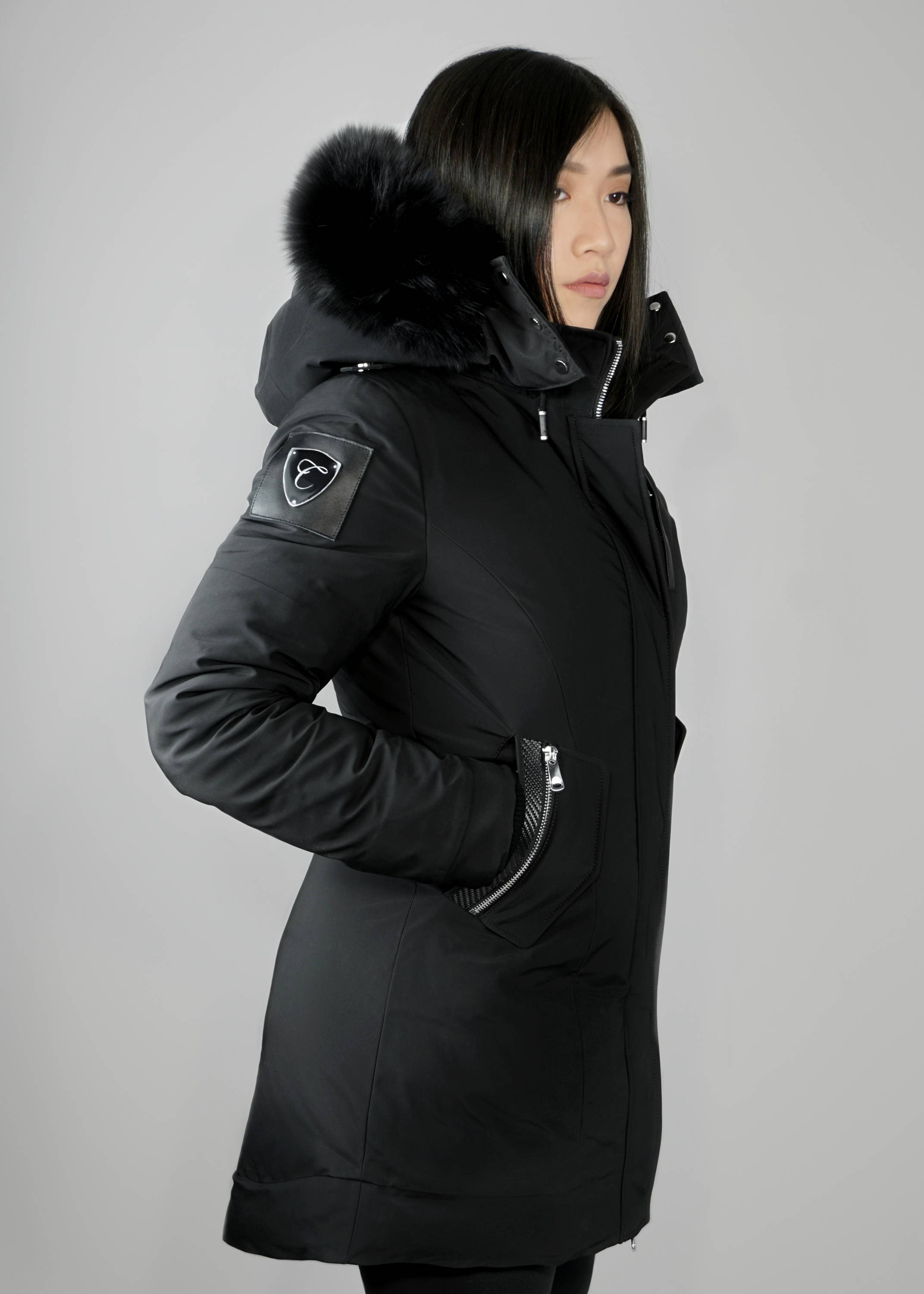 Carbonesque womens signature esmeray parka