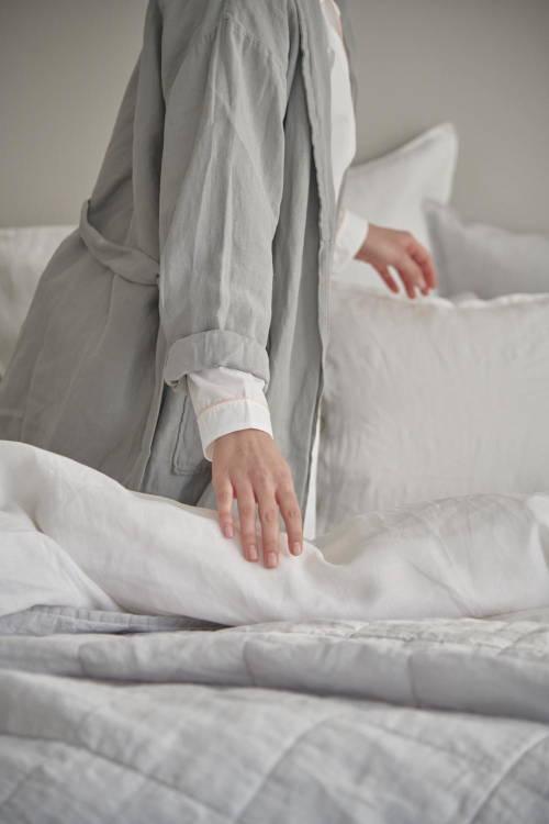 Leinen Leinenbettwäsche 100% Leinen Schlafzimmer