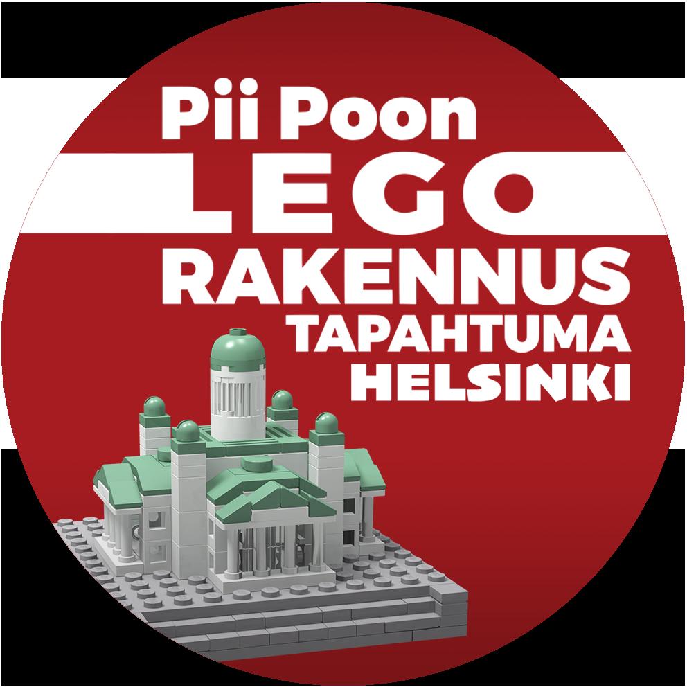 Legoista tehty Helsingin tuomiokirkko