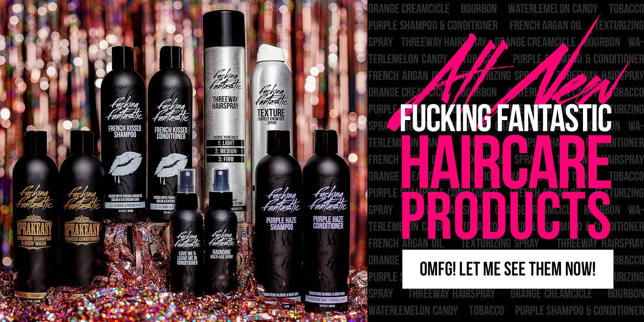 All New Haircare Product Launch