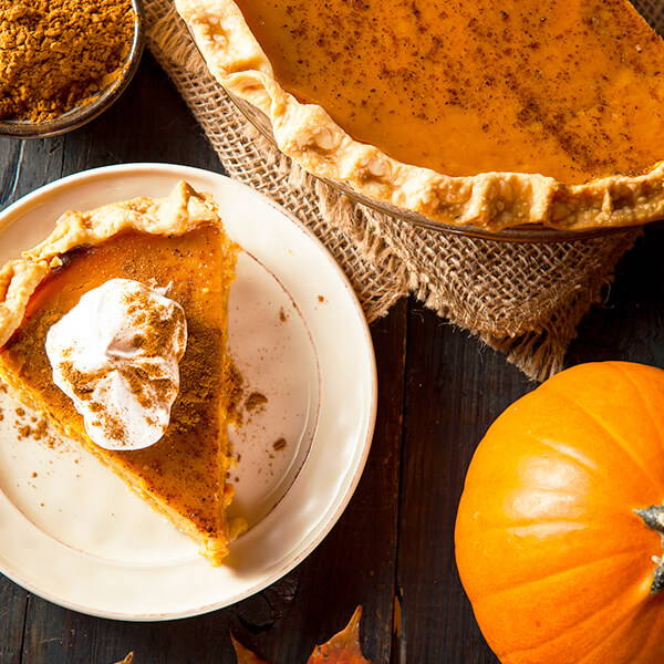 High Quality Organics Express Pumpkin Pie