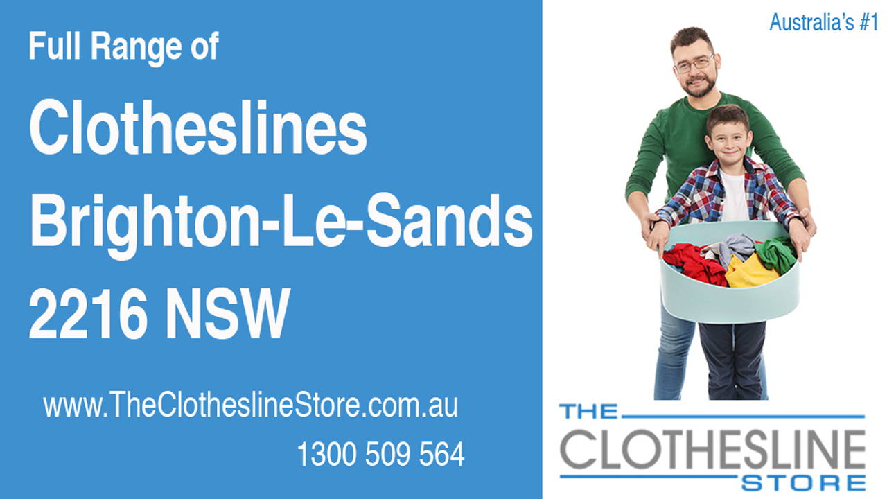 Clotheslines Brighton-Le-Sands 2216 NSW