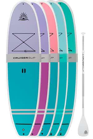 Cruiser SUP Bliss women's paddleboard package