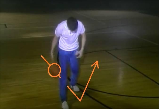 Reverse leg motion
