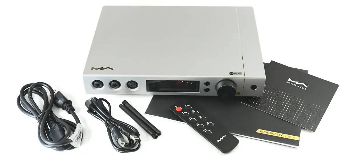 Matrix Audio Element X Headphone Amplifier and Streamer