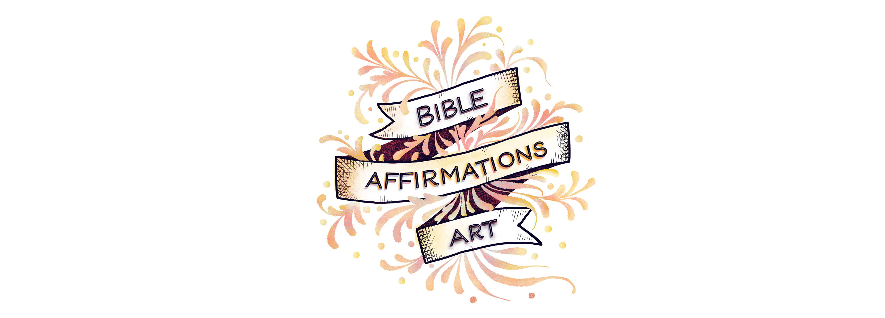 Bible Affirmations Art Logo