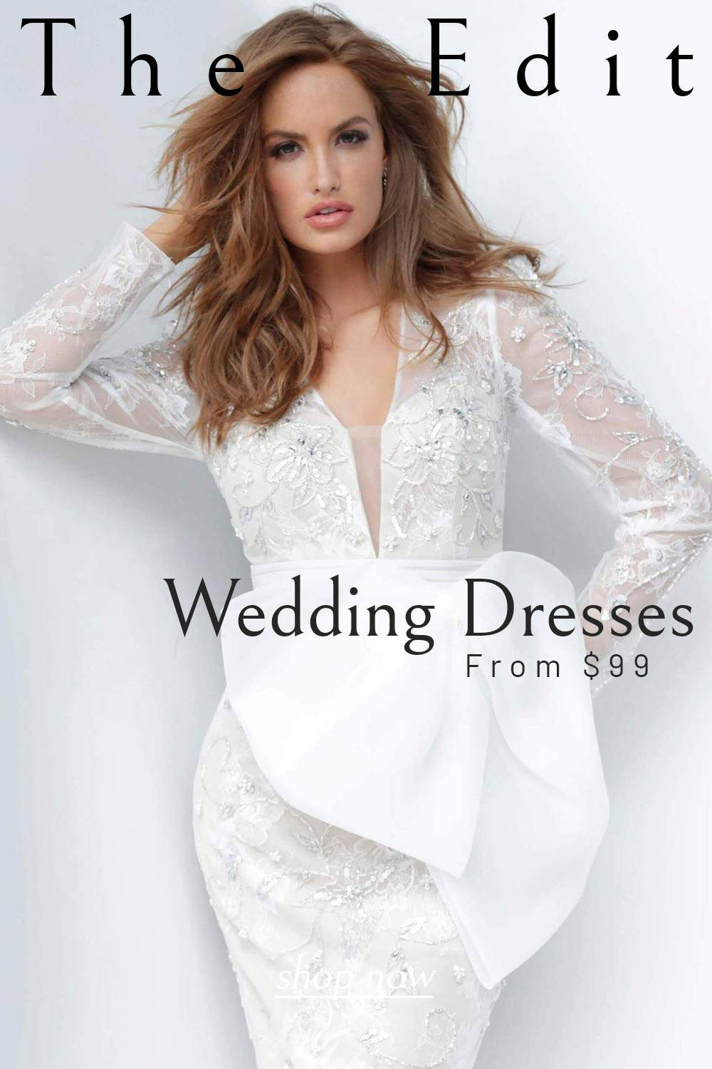 Wedding Dresses From $99
