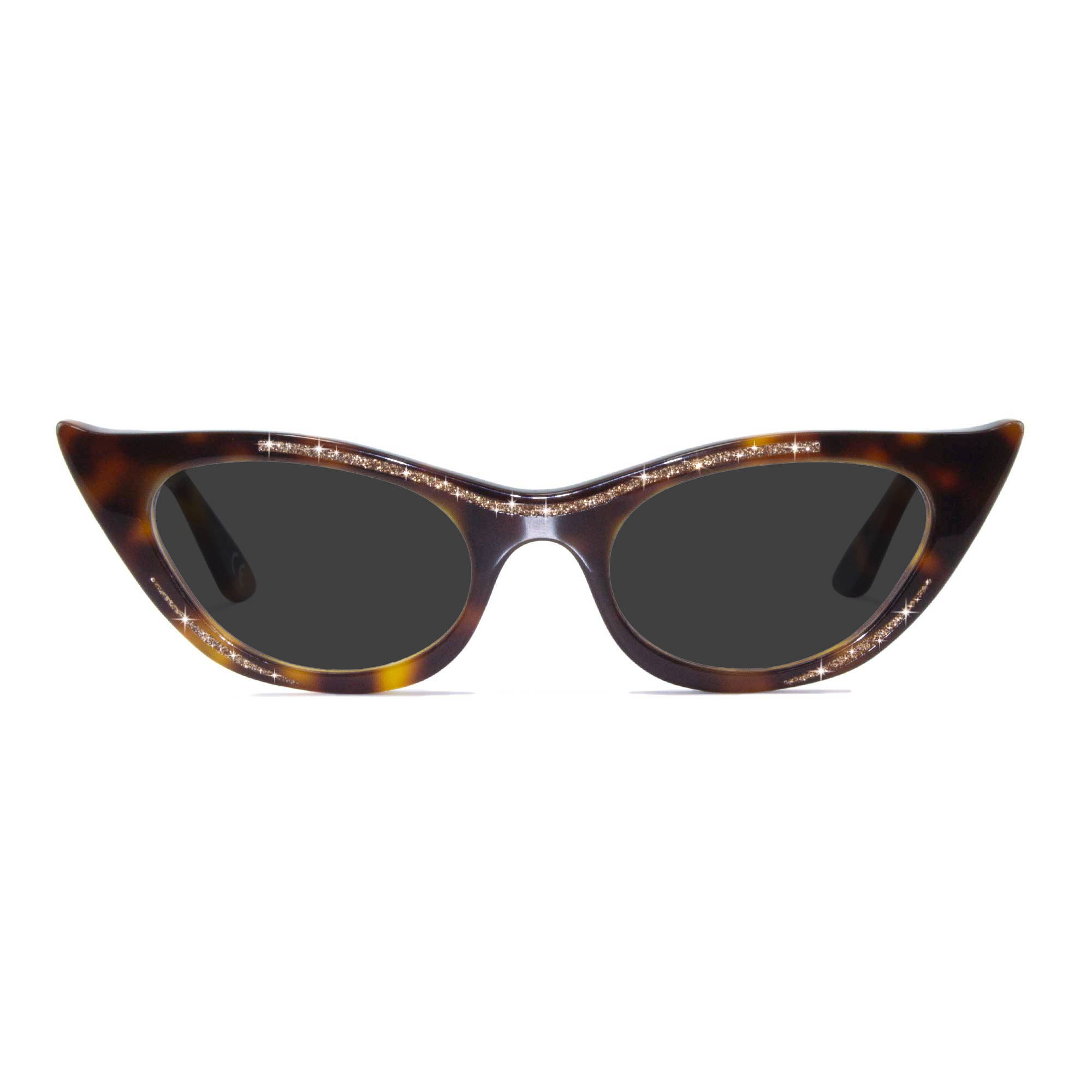 Joiuss lana tortoiseshell cat eye sunglasses