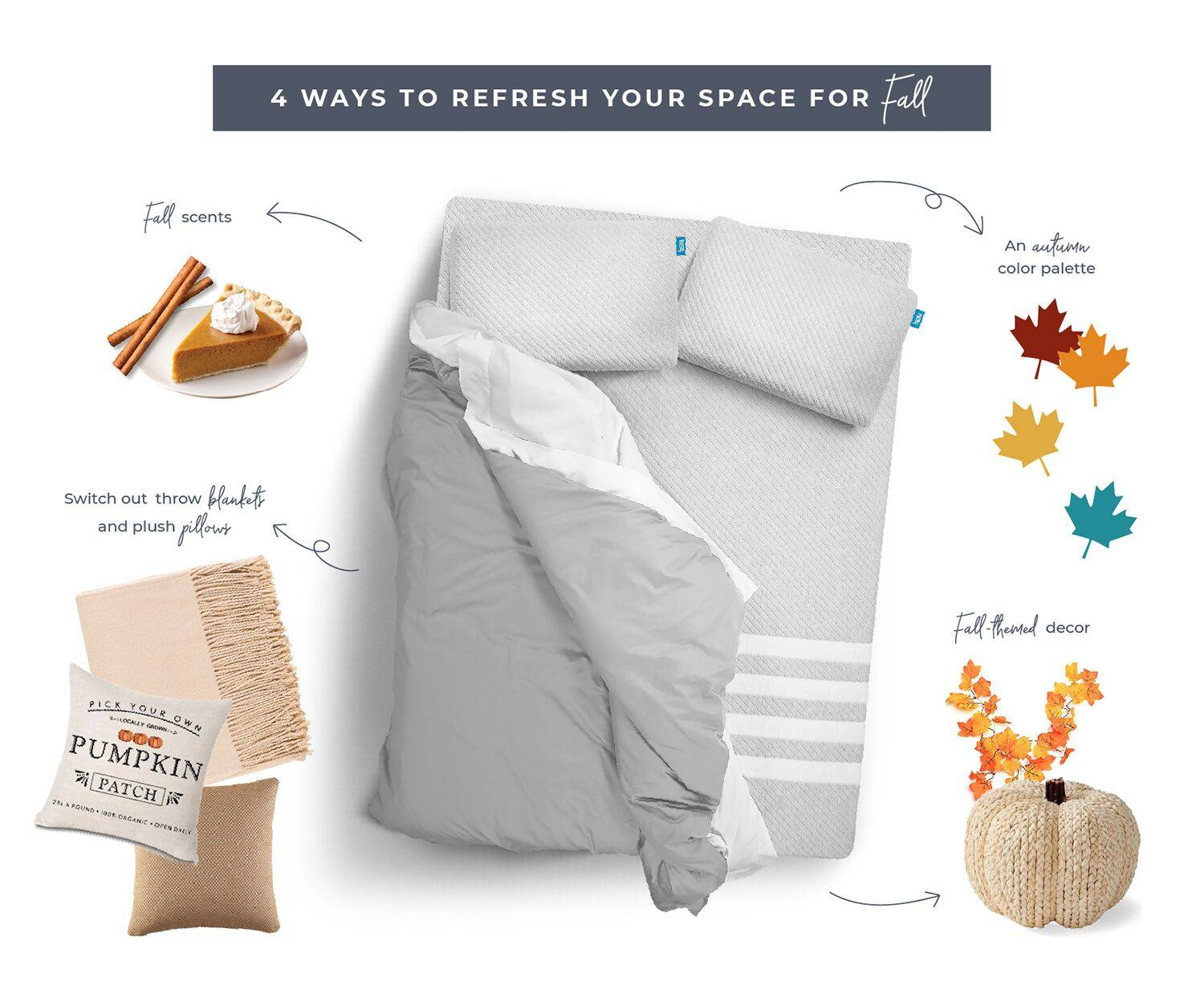 4 ways to refresh your space for Fall