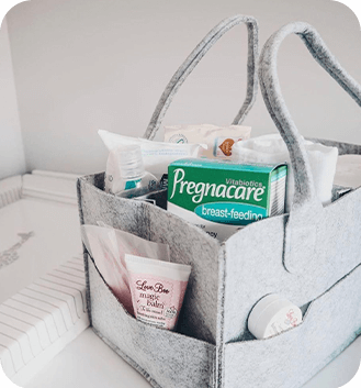 Pregnacare In Bathroom Product Holder