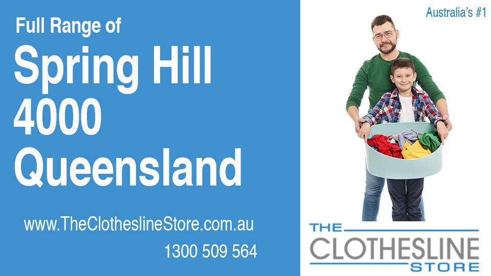 New Clotheslines in Spring Hill Queensland 4000