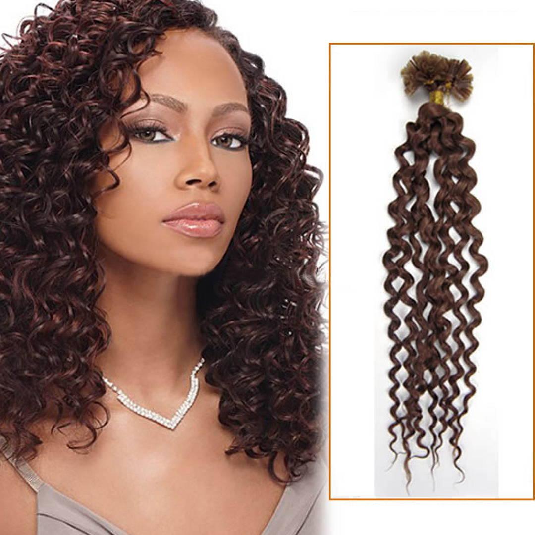 Curly Fusion U-Tip Hair