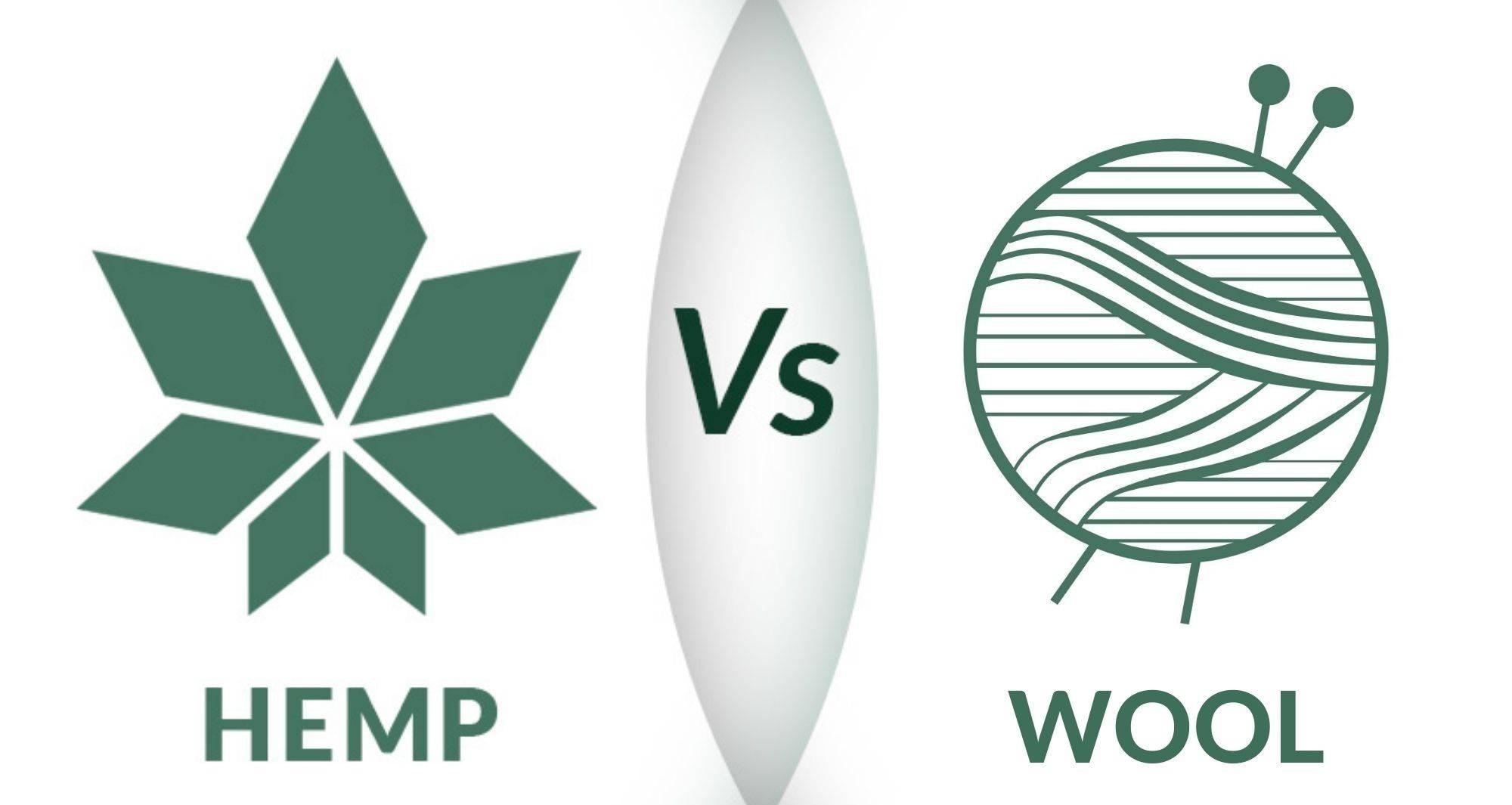 Hemp Vs Wool Logo By WAMA Underwear