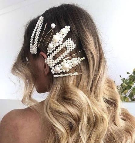 Ensembles d'accessoires pour cheveux en perle