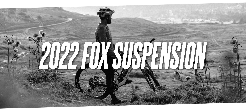 2022 Fox mountain bike Suspension lineup overview banner image elliot jackson pondering life