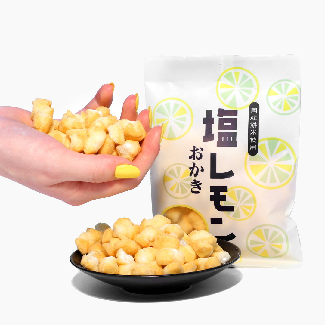 Okaki Rice Crackers: Lemon and Salt