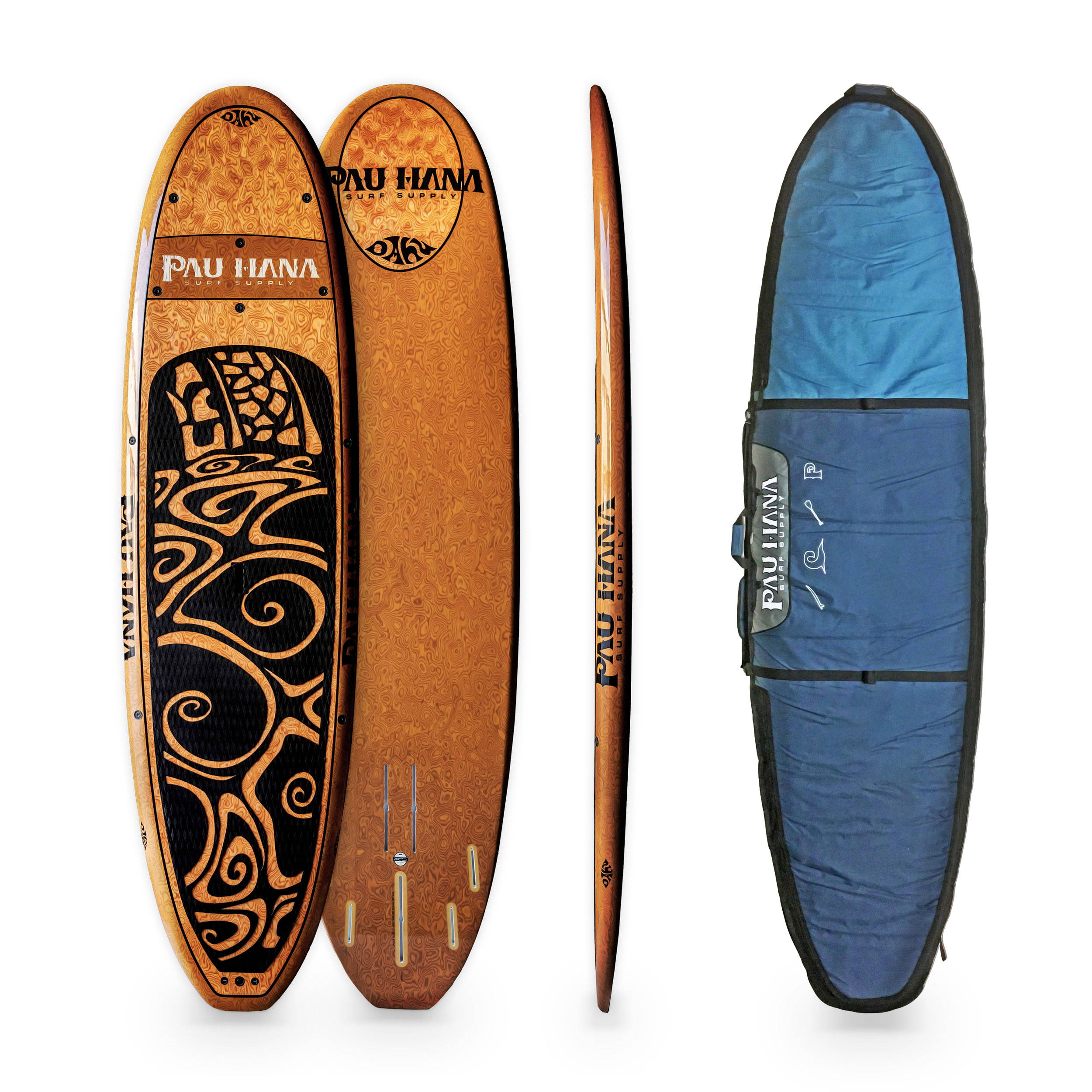Oahu coconut stand up paddle board and SUP board bag