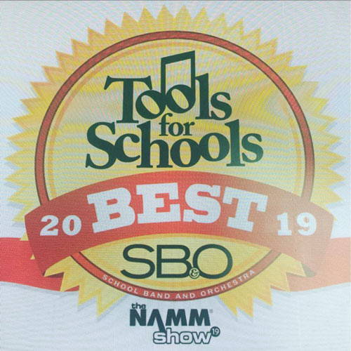 Best Instrument Care Tool Award from SB&O magazine Tools for Schools Best of 2019