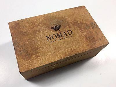 Nomad Botanicals custom-made Cinnamon Box