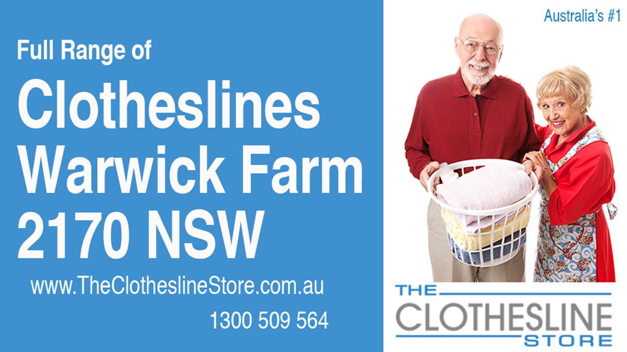 Clotheslines Warwick Farm 2170 NSW