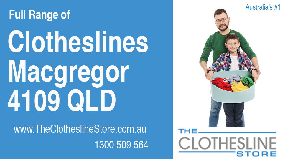 New Clotheslines in Macgregor Queensland 4109