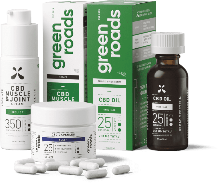 Bundle of CBD products