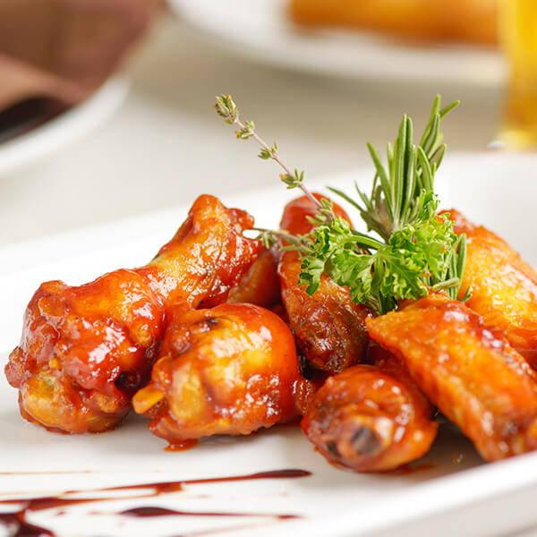 High Quality Organics Express Habanero chicken wings