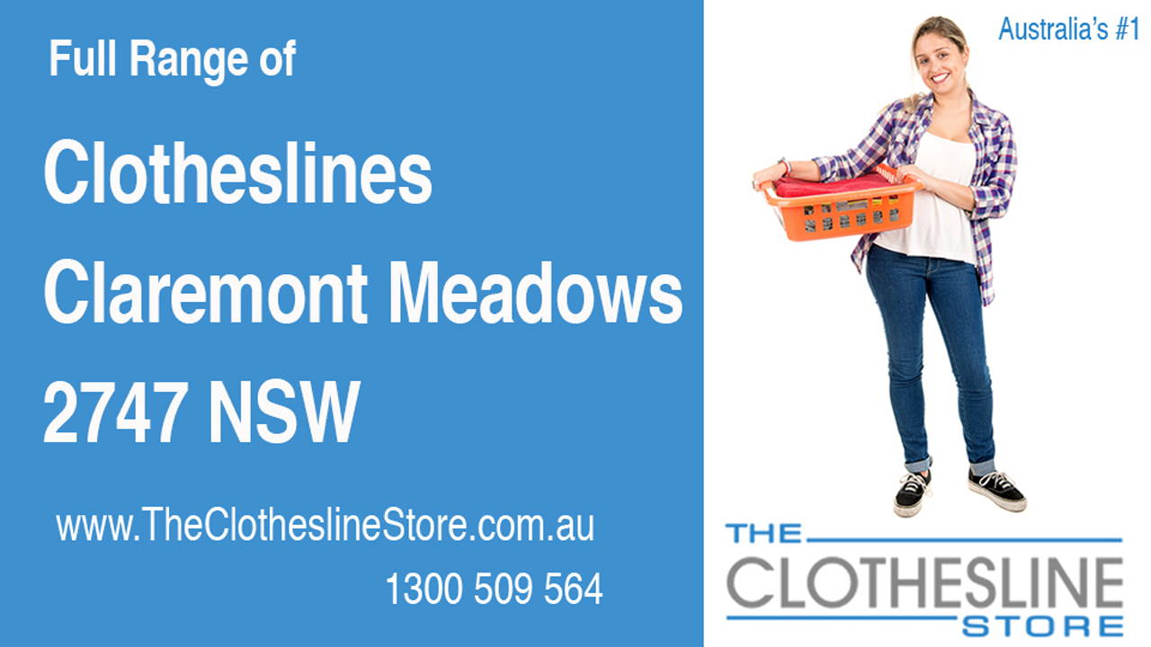 New Clotheslines in Claremont Meadows 2747 NSW