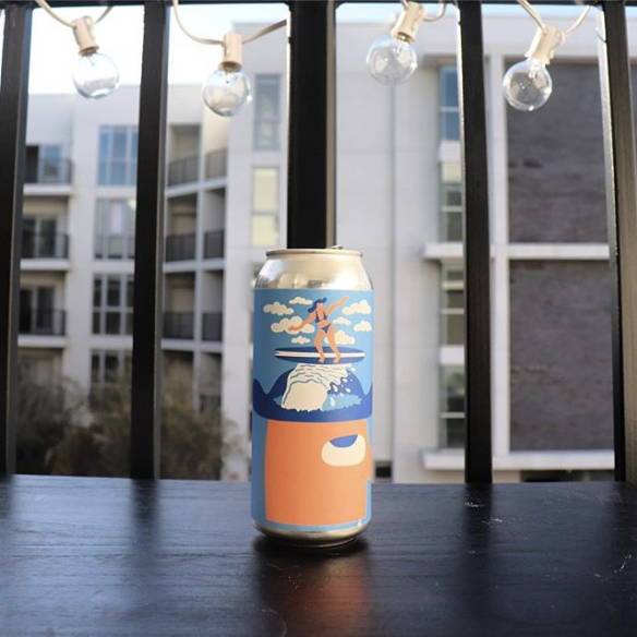 Mikkeller Brewing surfs up beer can