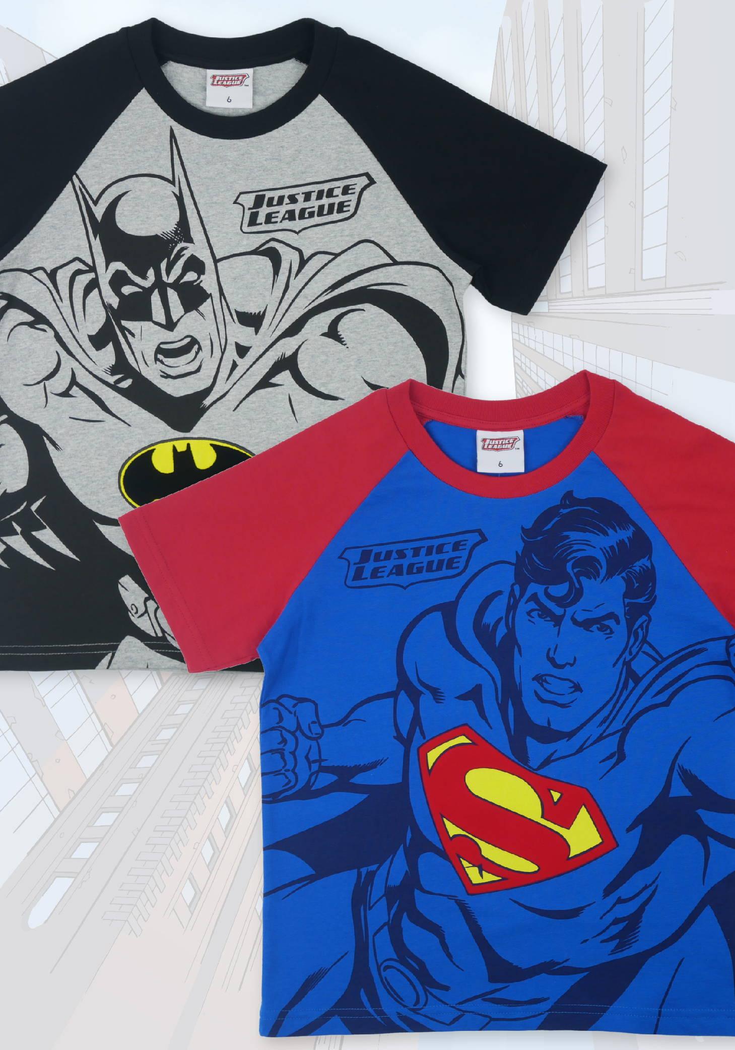 เสื้อยืดเด็กจัสติสลีก justice league boy t-shirt