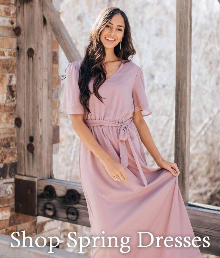 Shop Spring Dresses from Bella Ella Boutique.
