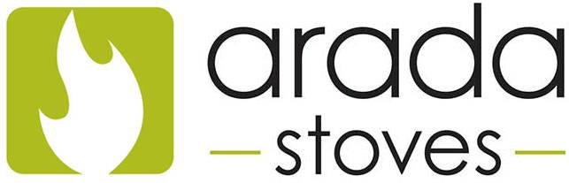 The Arada Stoves logo