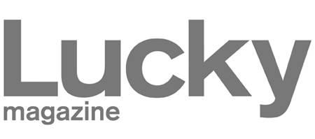 Lucky Magazine Logo