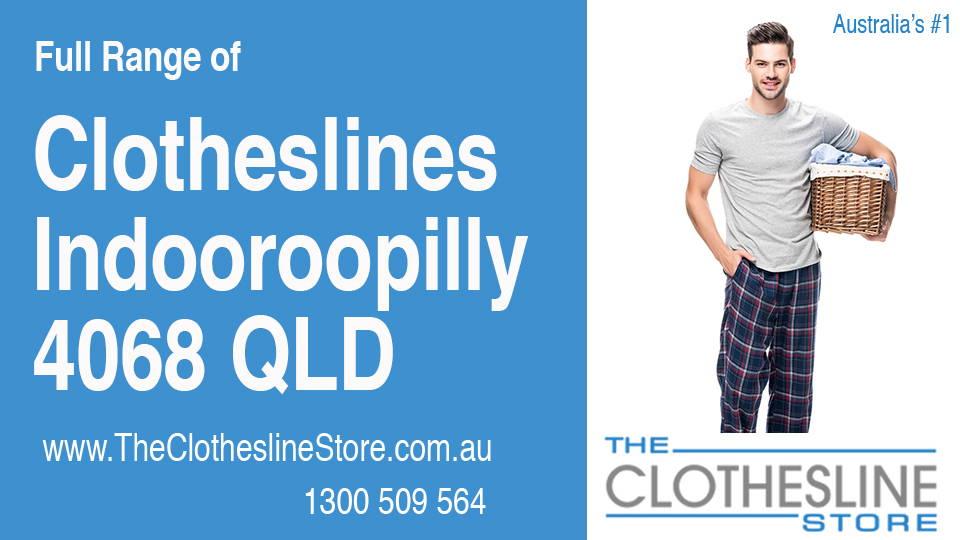 New Clotheslines in Indooroopilly Queensland 4068