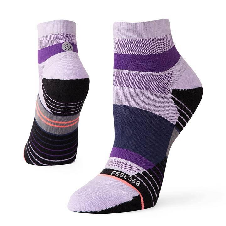 Stance Negative Split Quarter Run Socks Women's