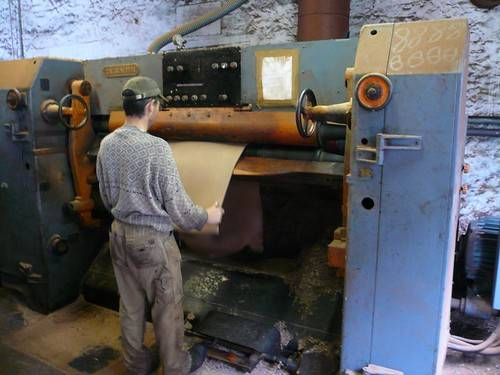 tender co leather tannery machine