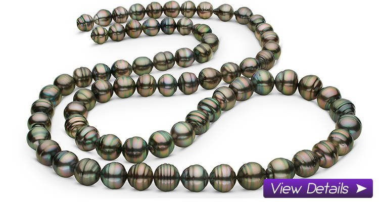 Long Tahitian Pearl Necklaces, Opera Ropes and Layers