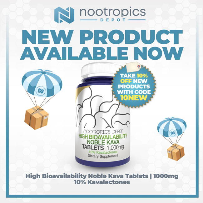 New Product Available Now- High Bioavailability Kava Tablets | 1000mg 10% Kavalactones