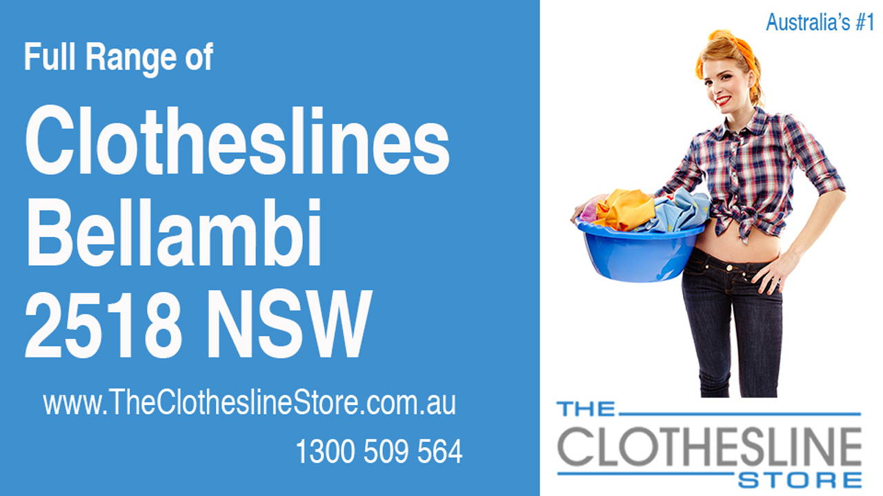 New Clotheslines in Bellambi 2518 NSW