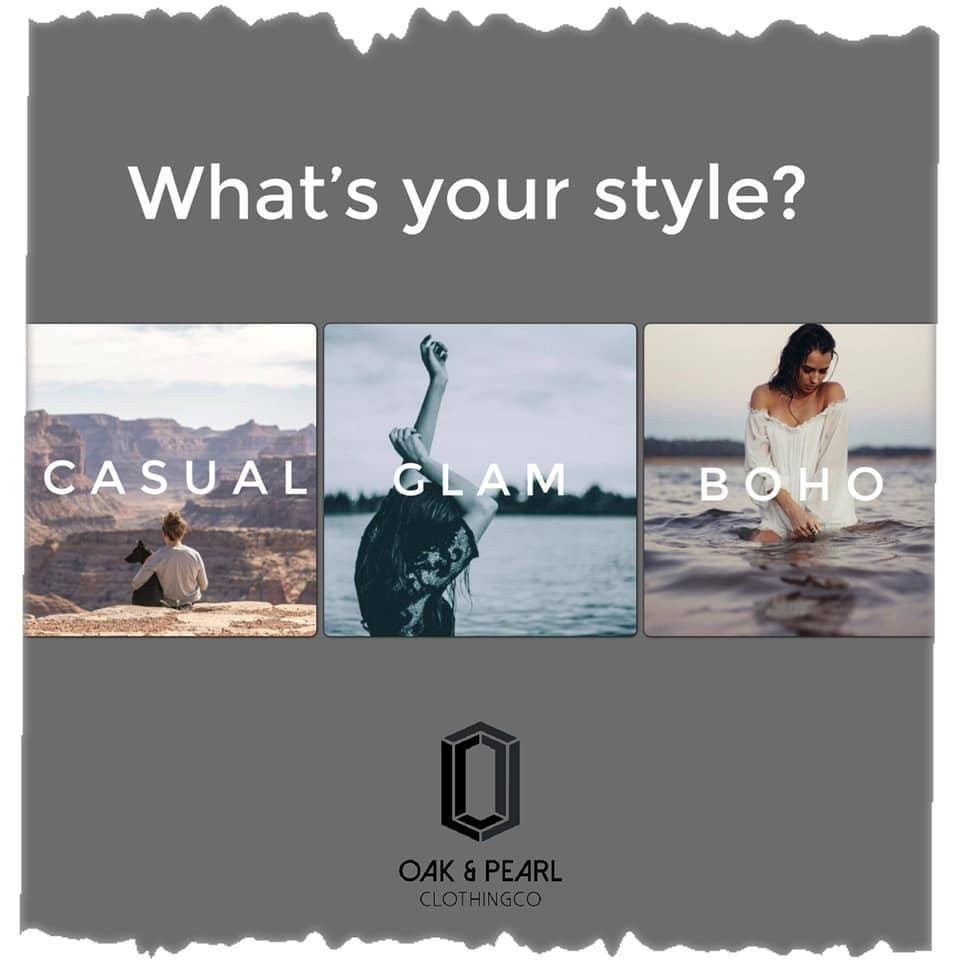 Find your best style at Oak&Pearl by Shopping Our Online Collections