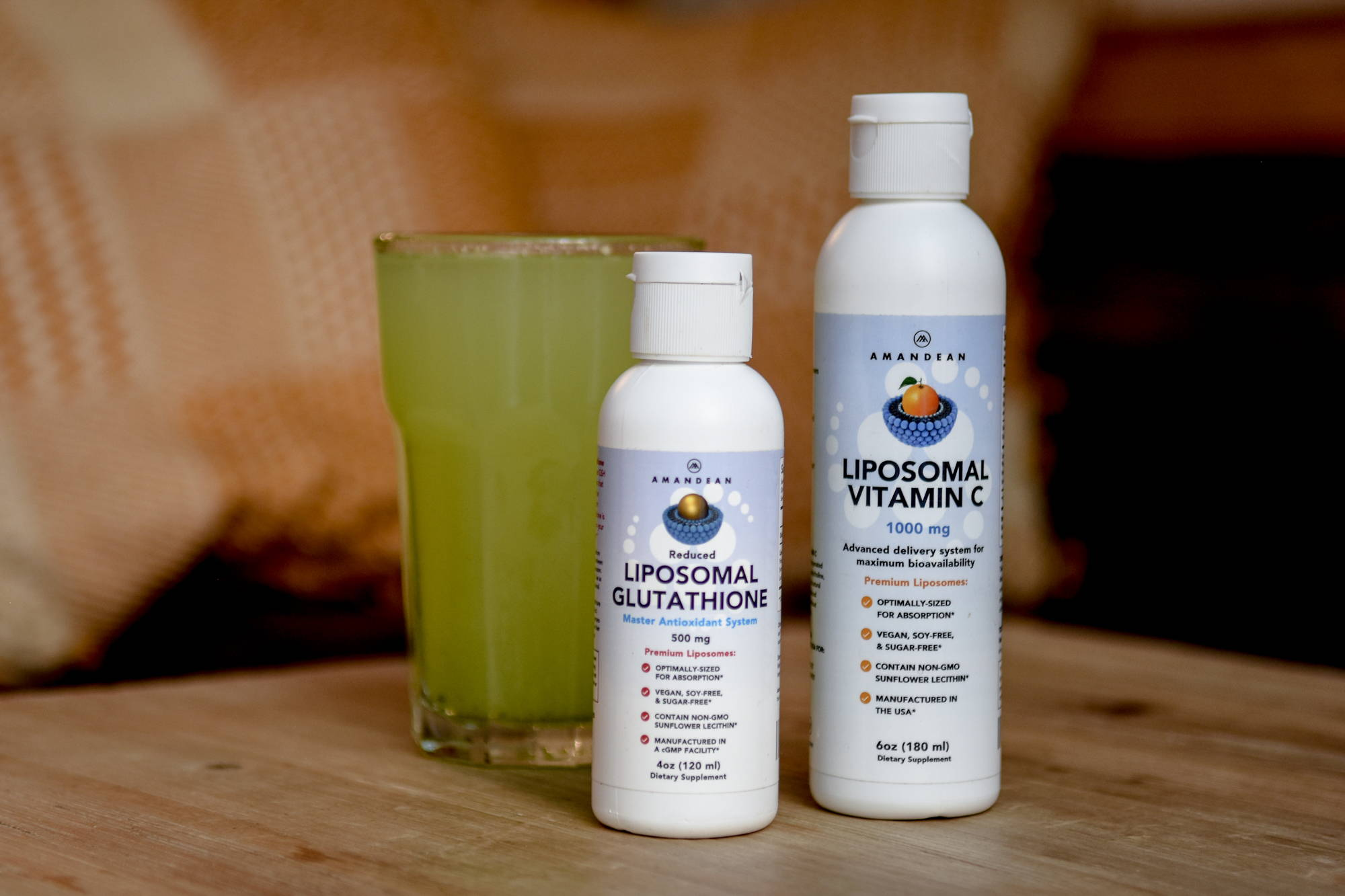 Amandean's High Bioavailability Liposomal Antioxidants