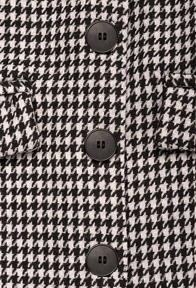 THE BEVERLY IN BLACK WHITE HOUNDSTOOTH