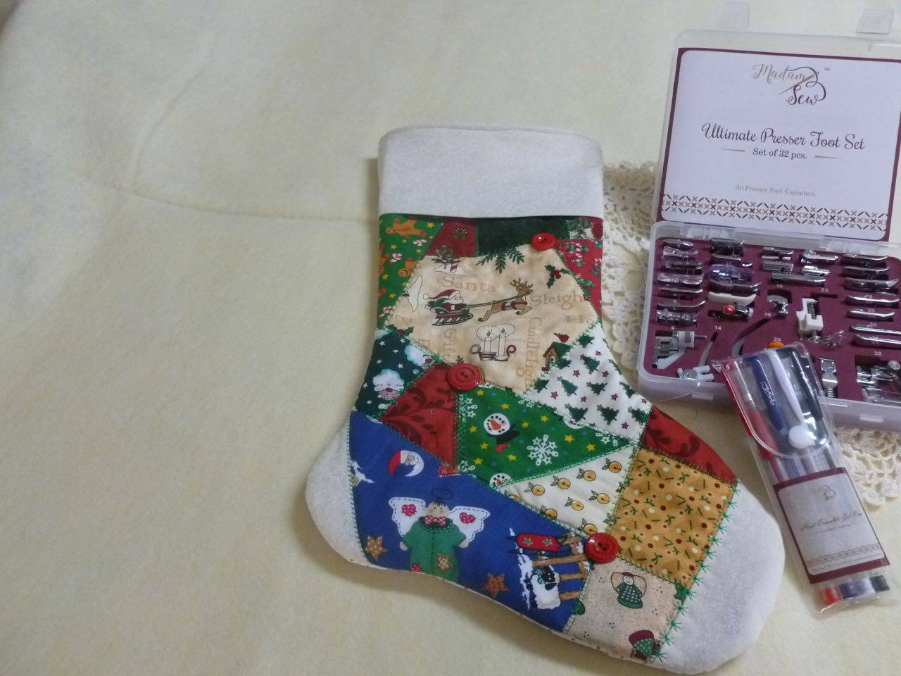 Using The Decorative S Ches On Your Machine Or Even Just The Utility S Ches You Can Create Fun And Beautiful Stockings