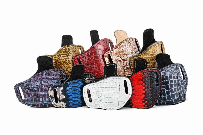Custom leather holster