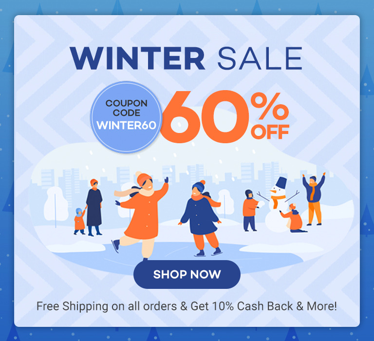 winter sale 60% off